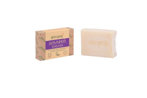 Levrana, Шалфей, натуральное мыло, 100гр