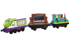 Chuggington Die-Cast Паровозик Коко с двумя вагончиками (LC54077)