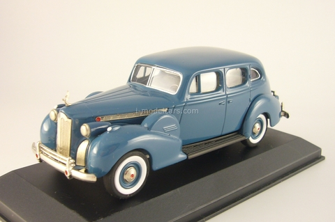 Packard Super 8 Sedan 1940 blue Rextoys 1:43