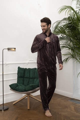 Мужской велюровый костюм 20321 Laete