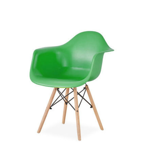 Стул-кресло DAW Eames by Vitra (зеленый)