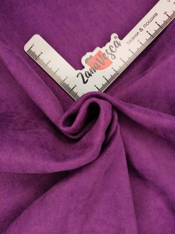 Канвас-велюр роскошный фиолетовый
