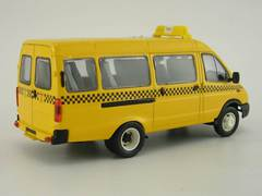 GAZ-3221 Gazelle Route Taxi restyling Agat Mossar Tantal 1:43