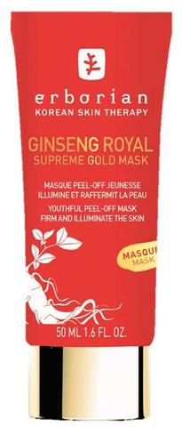 Erborian Омолаживающая пилинг маска Ginseng Royal Supreme Gold Mask