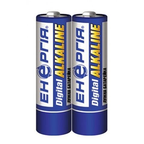 Батарейки Энергия Alkaline LR6, АА, 2шт трей 40/1000