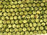 Нить бусин из яшмы риолит, шар гладкий 10мм