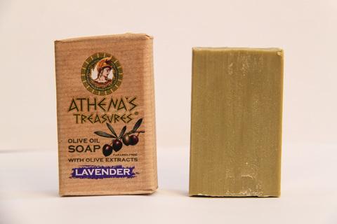 Мыло ручной работы из оливкового масла ATHENAS TREASURES