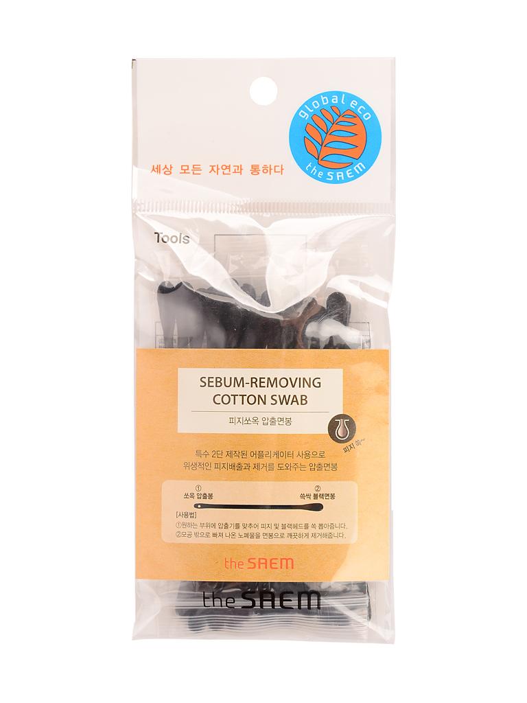the SAEM Ватные палочки для очистки пор набор Sebum-Removing Cotton Swab СМ2248.JPG