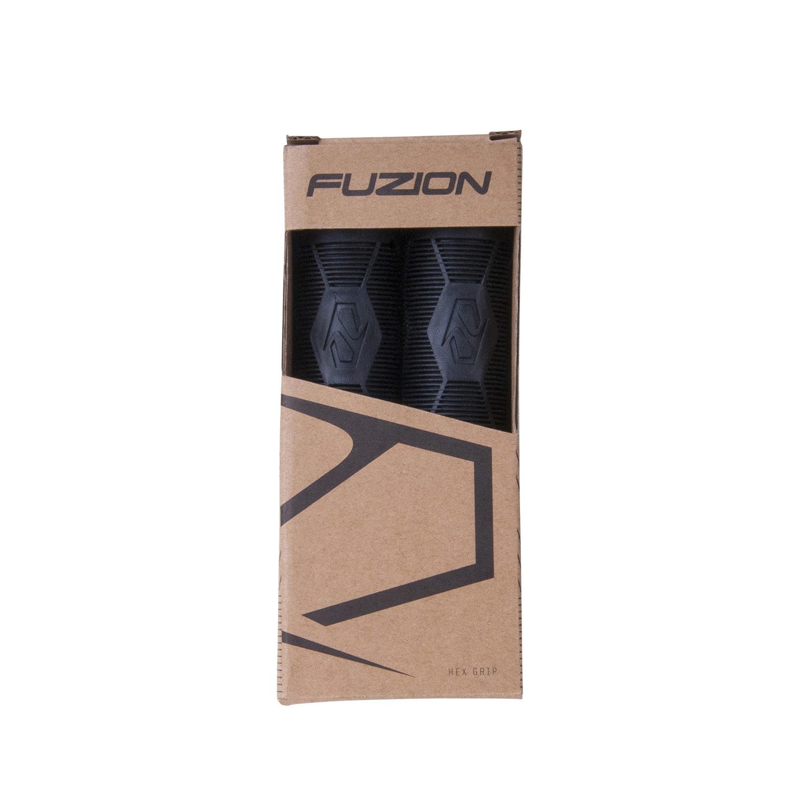 Грипсы FUZION Hex (Black)