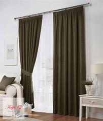 Комплект штор Тоскана (коричневый)