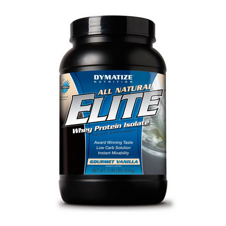 All Natural Elite Whey Protein Isolate