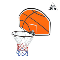 Баскетбольный щит с кольцом для батута