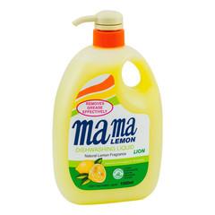 Средство для мытья посуды с антибактериальным эффектом Mama Lemon c натуральным ароматом лимона 1 л
