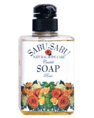 Жидкое мыло ручной работы из полевой коллекции с маслом розы, Sabu-Sabu