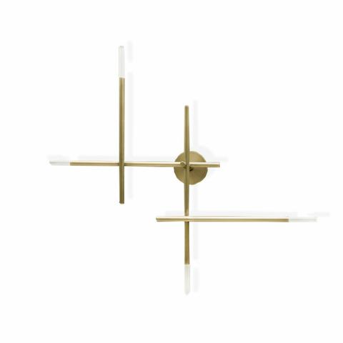 Настенный светильник Lines by Light Room (золотой)