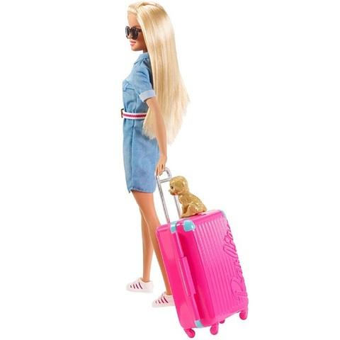 Барби Дом Мечты Путешественница с щенком и аксессуарами ...