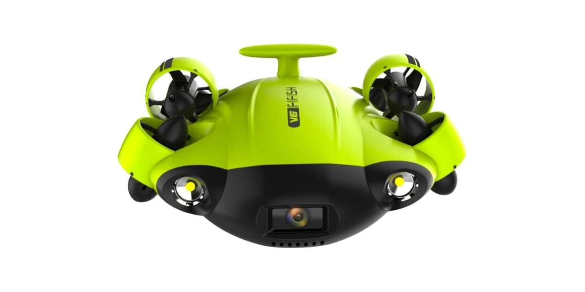 Подводный дрон FIFISH V6 в фас