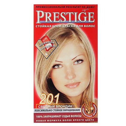 Краска для волос Prestige 201 Светлый блонд