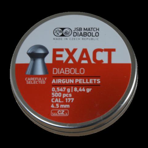 Пульки JSB Exact 4.52 мм (0.54 г, 500 шт.)