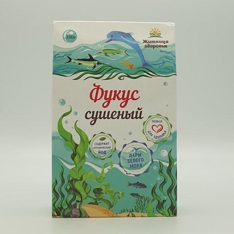 Фукус сушеный ЖИТНИЦА ЗДОРОВЬЯ, 100 гр