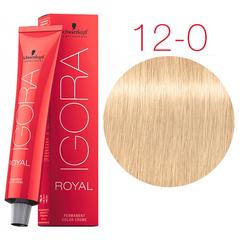 Schwarzkopf Igora Royal New 12-0 (Специальный блондин натуральный) - Краска для волос