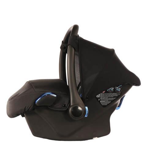 Детское автокресло Junama SE черное с синим
