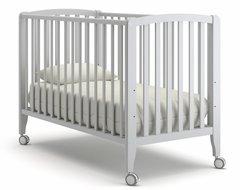 Кровать детская Бьянка на колесиках белая ночь