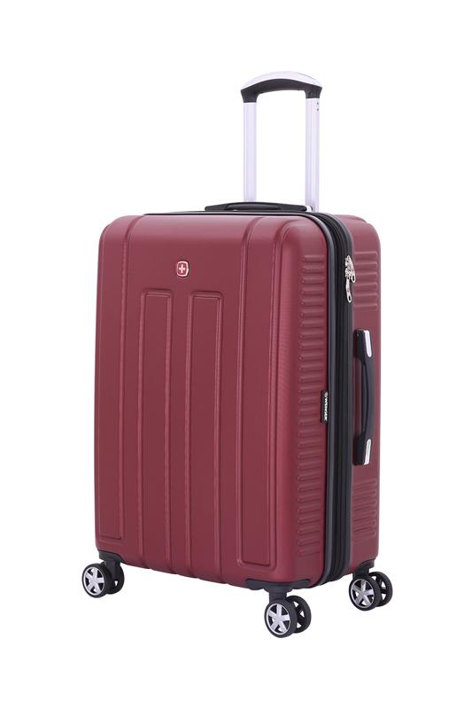 Чемодан WENGER VAUD, цвет бордовый, 59x26,5x42 см, 66 л  (WGR6399131167)