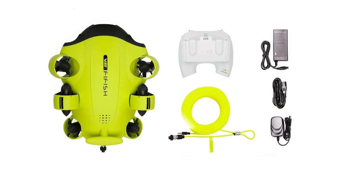 Подводный дрон FIFISH V6 комплект