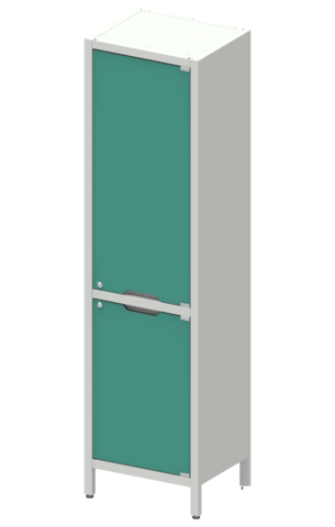 Шкаф лабораторный ШКа-1 АйЛаб Organizer  (вариант 1) - фото