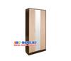 Диана-4 секц. № 10 Шкаф 3-х створчатый с зеркалом (венге/дуб молочный)