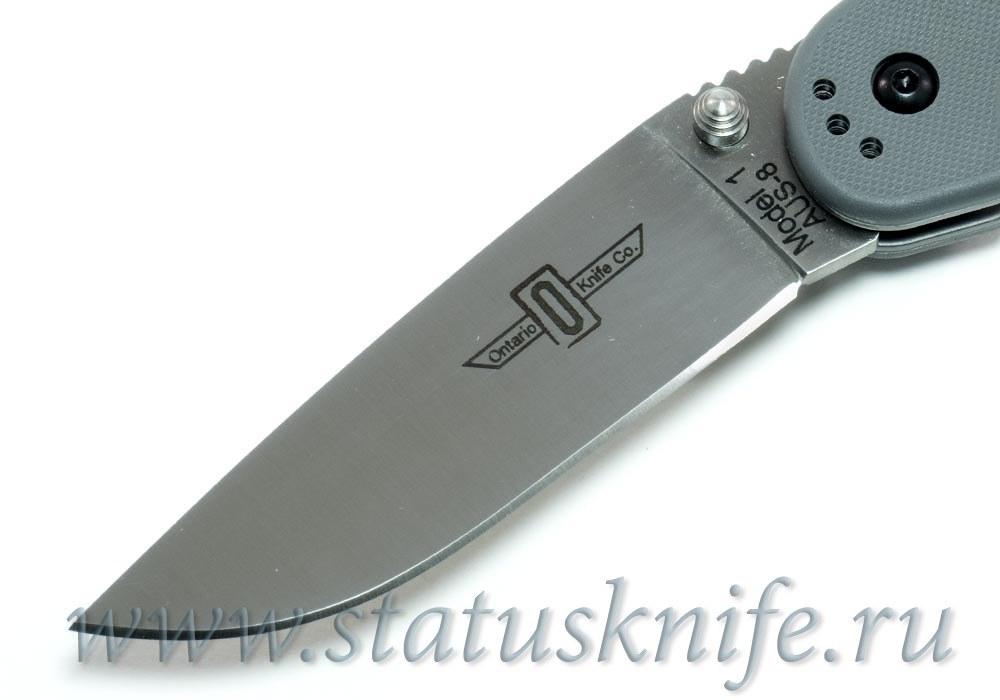 Нож Ontario Rat 1 O8848GY серый - фотография