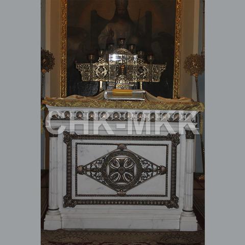 Престол для храма Иконы Божьей Матери