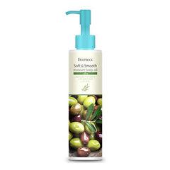 Deoproce Soft & Smooth Moisture Body Oil Olive - Увлажняющее масло для тела с оливой