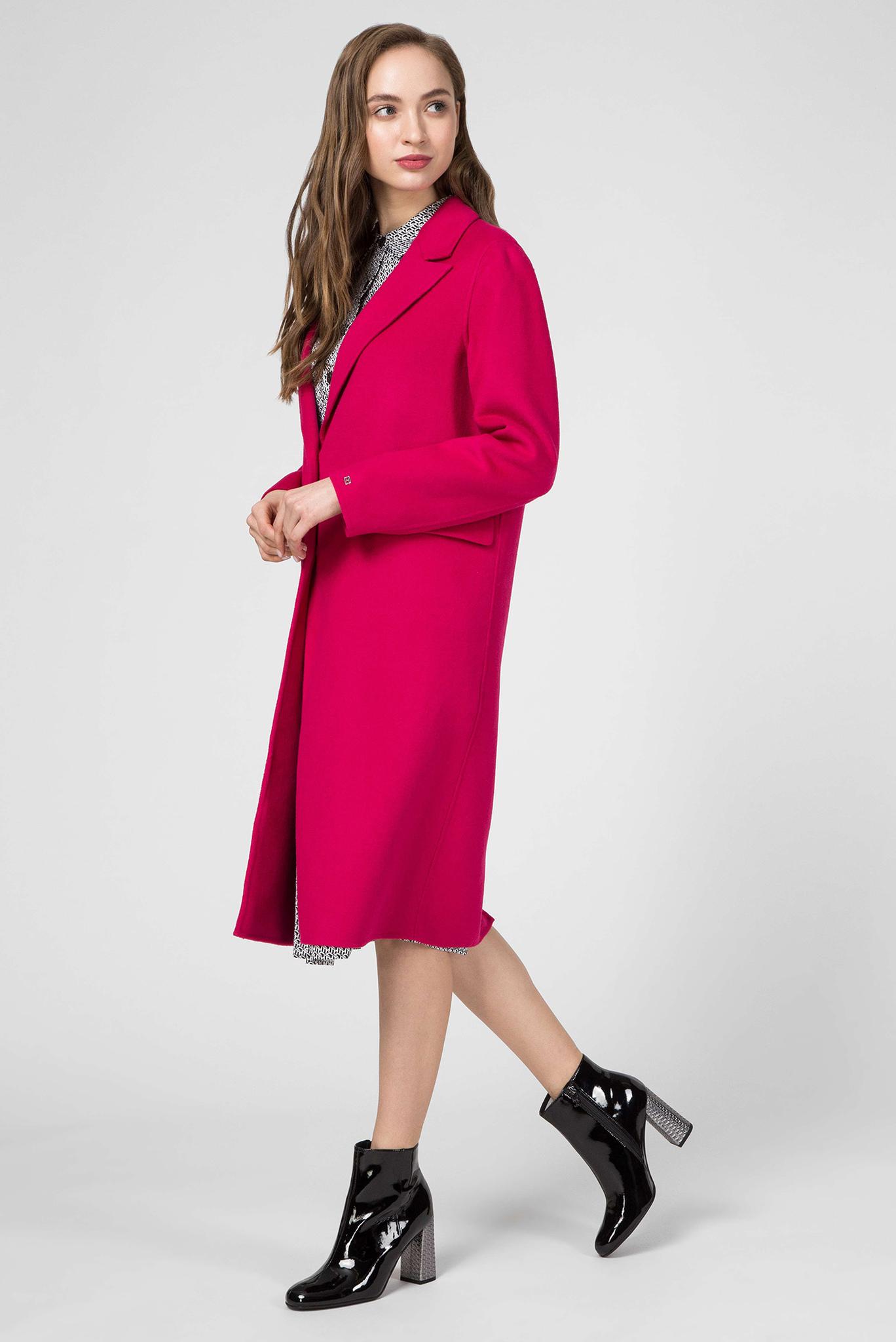 Женское розовое пальто BIANCA DF Tommy Hilfiger