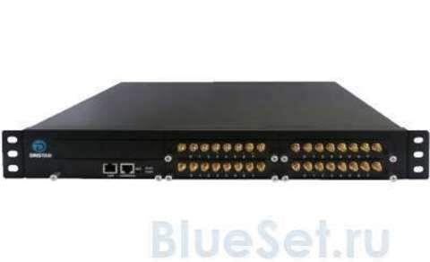 Dinstar DWG2000D-32GSM (GSM/VoIP шлюз)