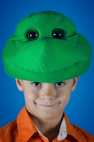 Карнавальная шапочка Черепашка