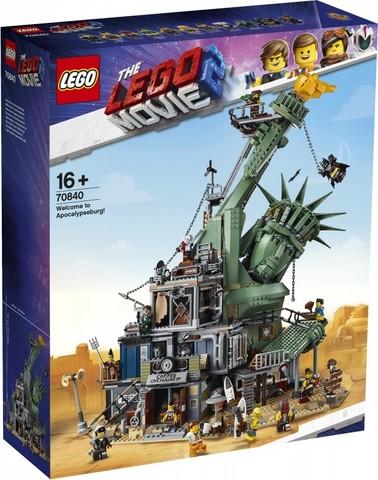 LEGO Movie: Добро пожаловать в Апокалипс-град 70840 — Welcome to Apocalypseburg! — Лего Муви Фильм