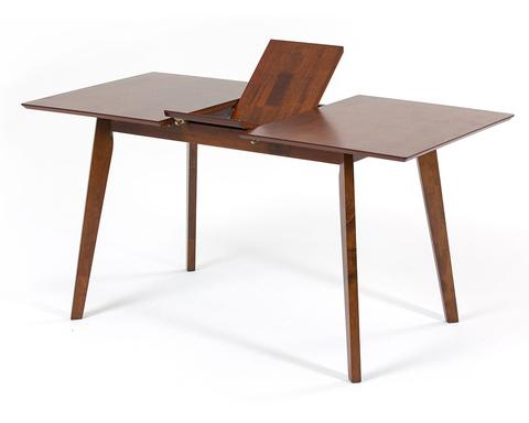 Раздвижной обеденный стол Sandakan из массива гевеи