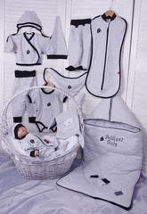 Комплект для новорожденных Baby Box светло-серый