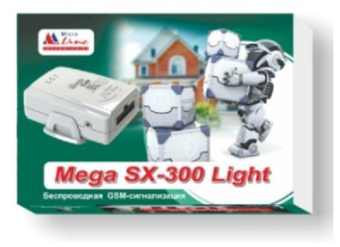 GSM-сигнализация Mega SX-300 Light