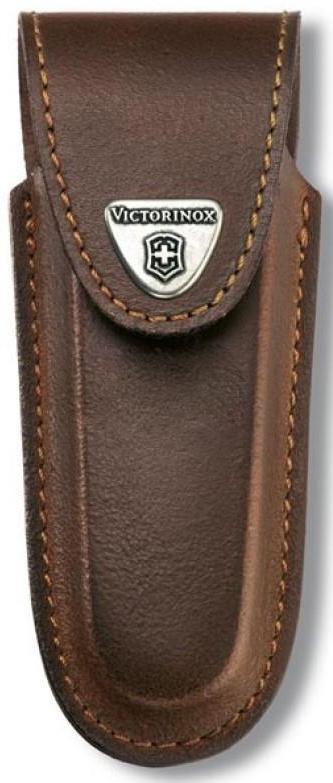 Чехол кожаный Victorinox, коричневый для Services pocket tools 111 мм, Pocket Multi Tools lock-blad