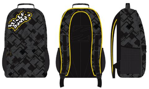 Рюкзак SB BACKPACK Black/Yellow, 15L