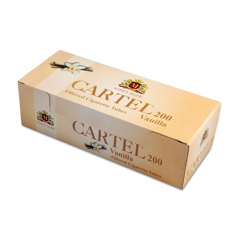 Гильзы для набивки сигарет CARTEL Ваниль 200