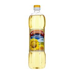 """Масло """"Аннинское"""" подсолнечное рафинированное 0,9 л"""