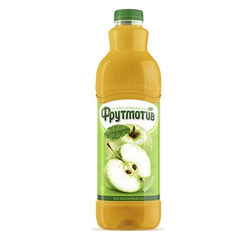 Frutmotiv напиток безалкогольный газированный со вкусом яблока 1,5 л.