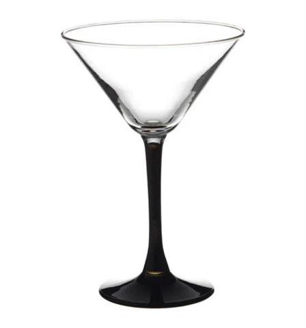 Стаканы imperial black мартини 4*4