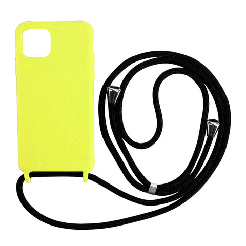 Чехол iPhone 11 Pro Max Silicone Case crossbody bag /flash/