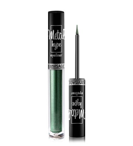 LuxVisage Metal hype Цветная подводка для глаз тон 4 (Indian Emerald) 1г