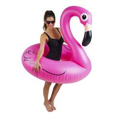 Надувной круг Розовый фламинго (120 см)